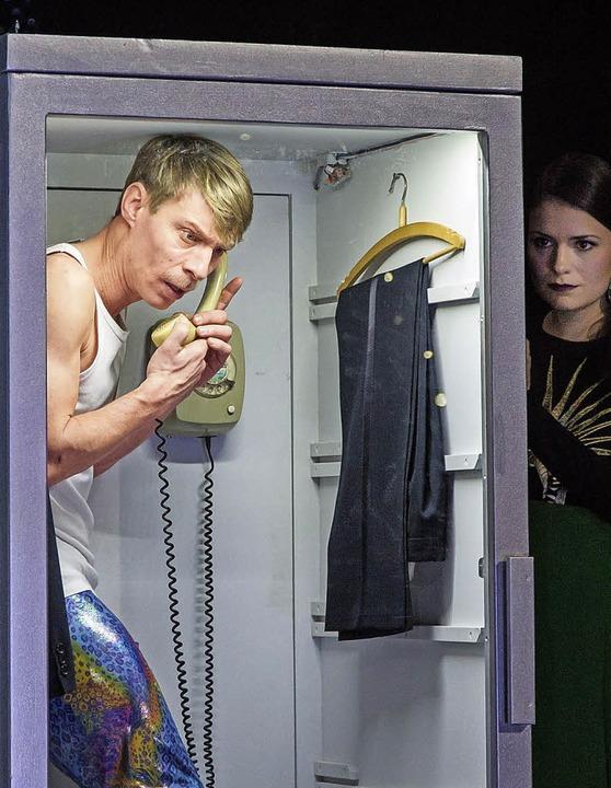 Brisantes Telefonat: Martin Hohner,  Katharina Ruckgaber  | Foto: Nickel