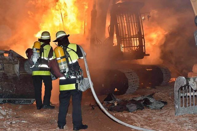 Brandanschläge auf Bau- und Immobilienbranche in München