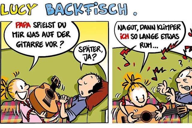 Lucy Backfisch: Gitarre