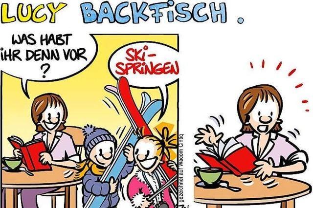 Lucy Backfisch: Skispringen