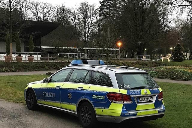 Wieder belästigt ein Mann im Bad Krozinger Kurpark zwei Frauen