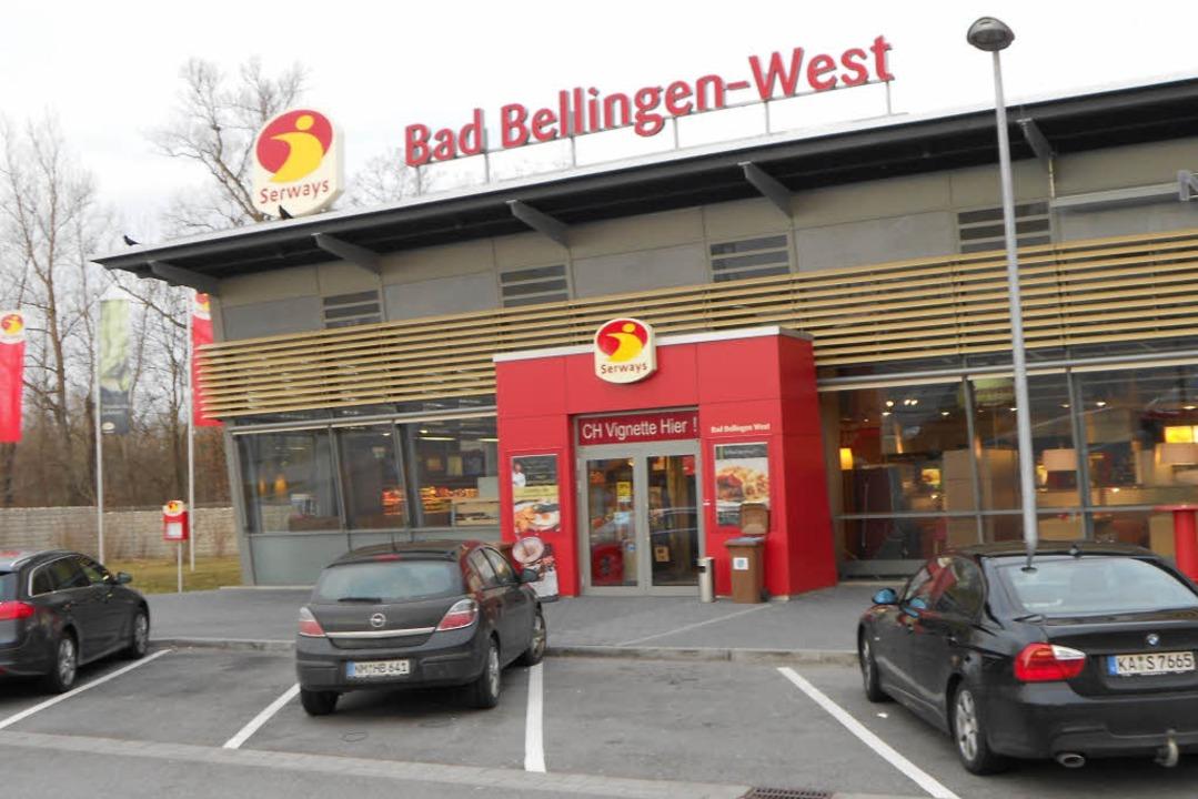 Am Rasthof Bad Bellingen fiel der erst...der Polizei erstmals auf (Archivbild).    Foto: Langelott
