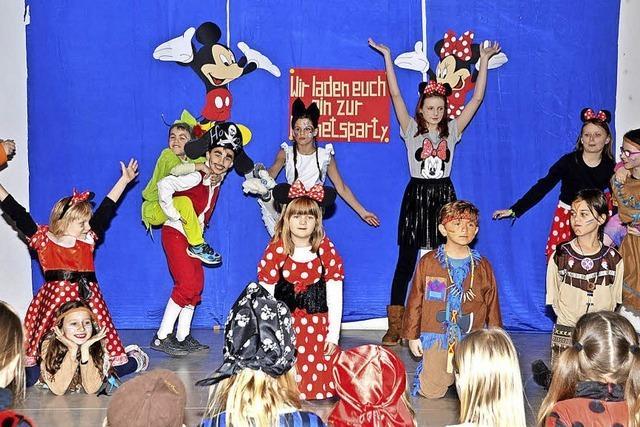 Gaudi mit Micky und Minnie Maus