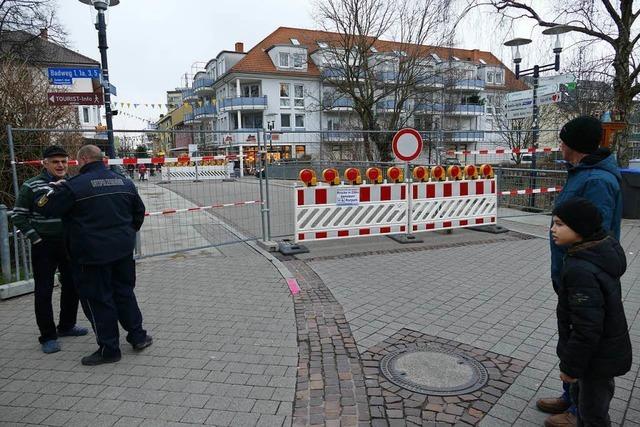 Problem-Stahl: Brücke in Bad Krozingen ist einsturzgefährdet