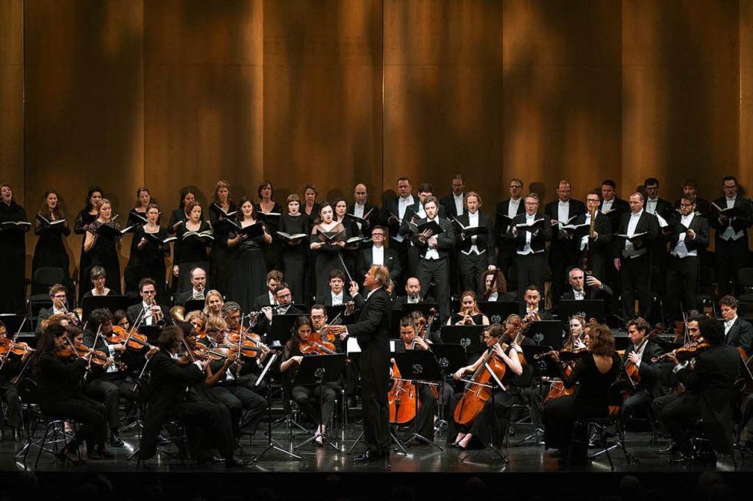 Lustvoll: Balthasar-Neumann-Ensemble und -Chor    Foto: Michael Gregonowits