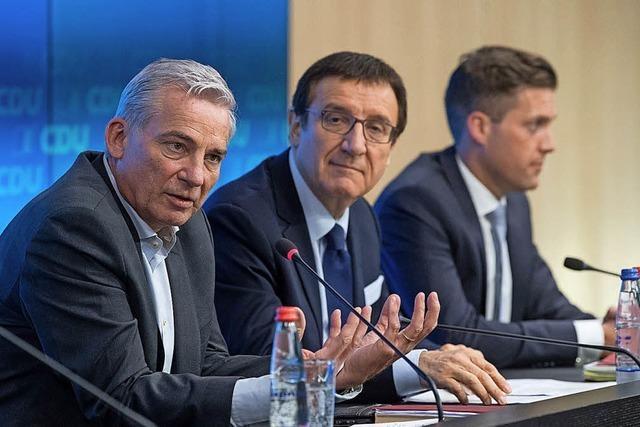 CDU watscht Reinhart ab
