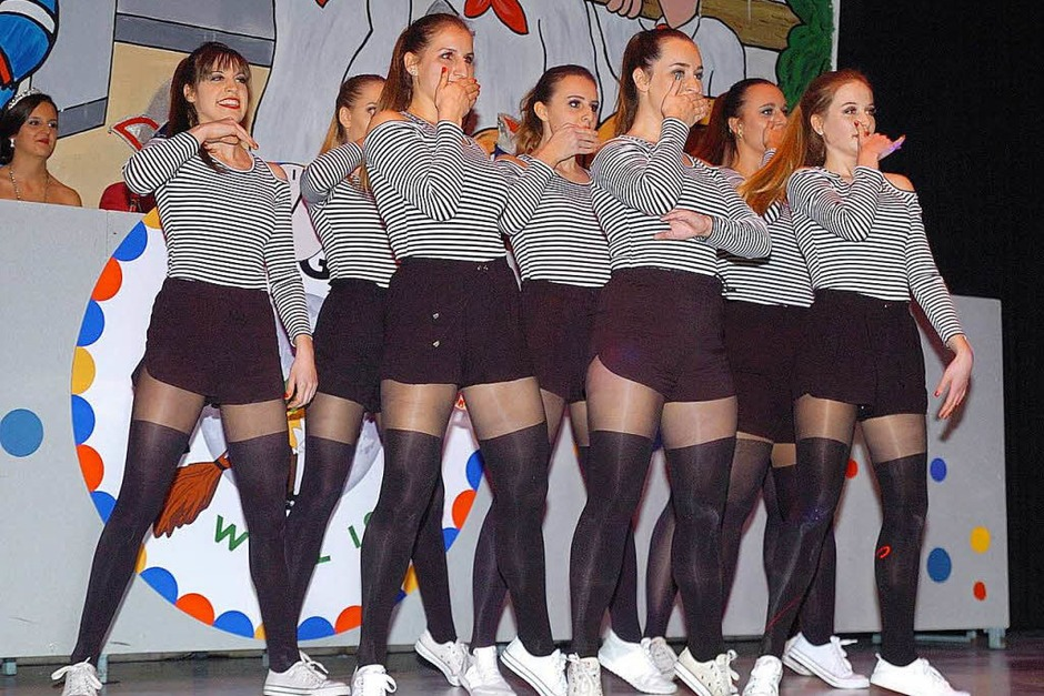 Das Damenballett (Foto: Jürgen Schweizer)