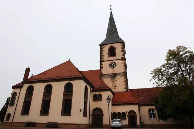 Renovierung der evangelischen Kirche Friesenheim