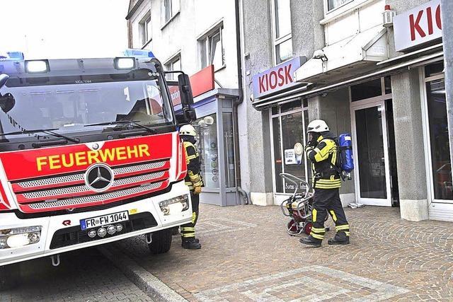 Schwelbrand im Kiosk
