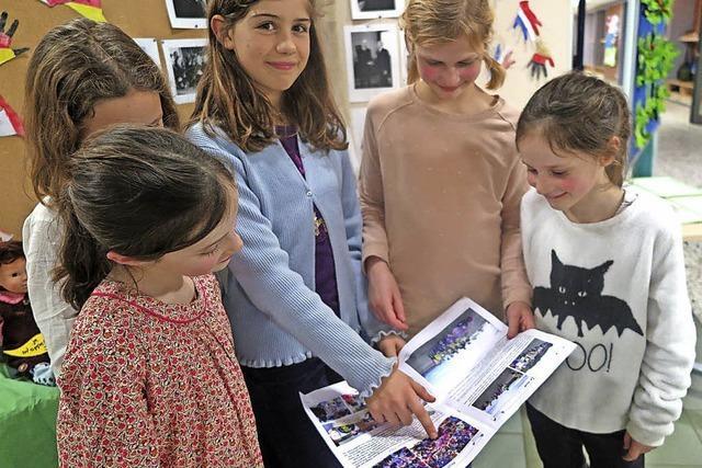 Empfang mit französischer Grundschule