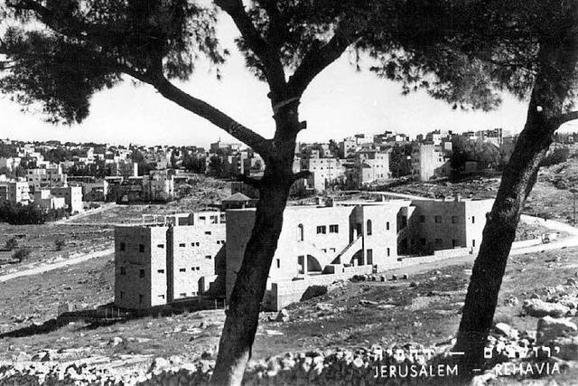 Rechavia – ein deutsches Gelehrtenviertel in Jerusalem