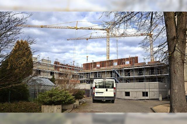 Der Neubau Wehrahof nimmt Form an