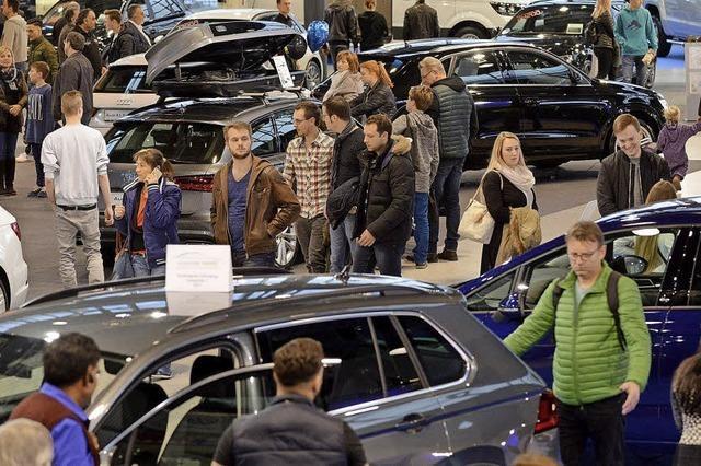 """Die """"Automobil"""" in Freiburg zeigt von 16. bis 18. Februar Neuwagen"""
