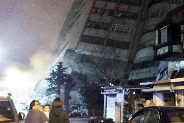 Tote nach starkem Erdbeben in Taiwan