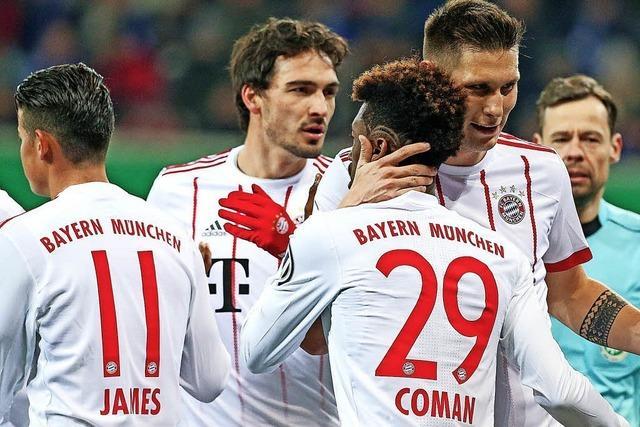 Ganz souveräne Bayern