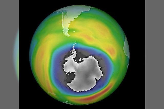 Ozonschicht ist immer noch dünn