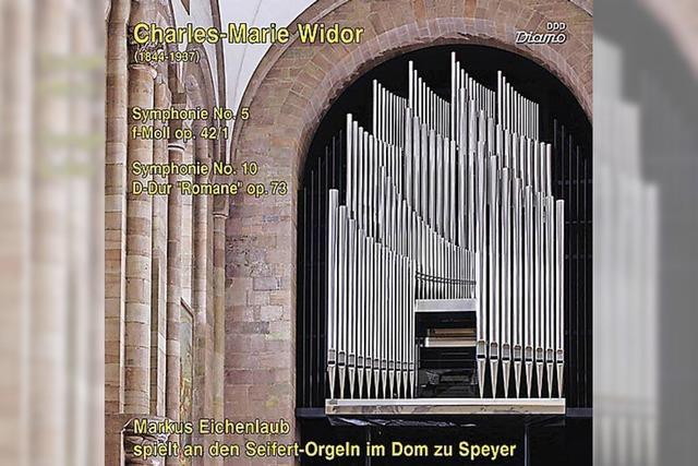 REGIO-CD: Maxi-Sinfonik aus Speyer