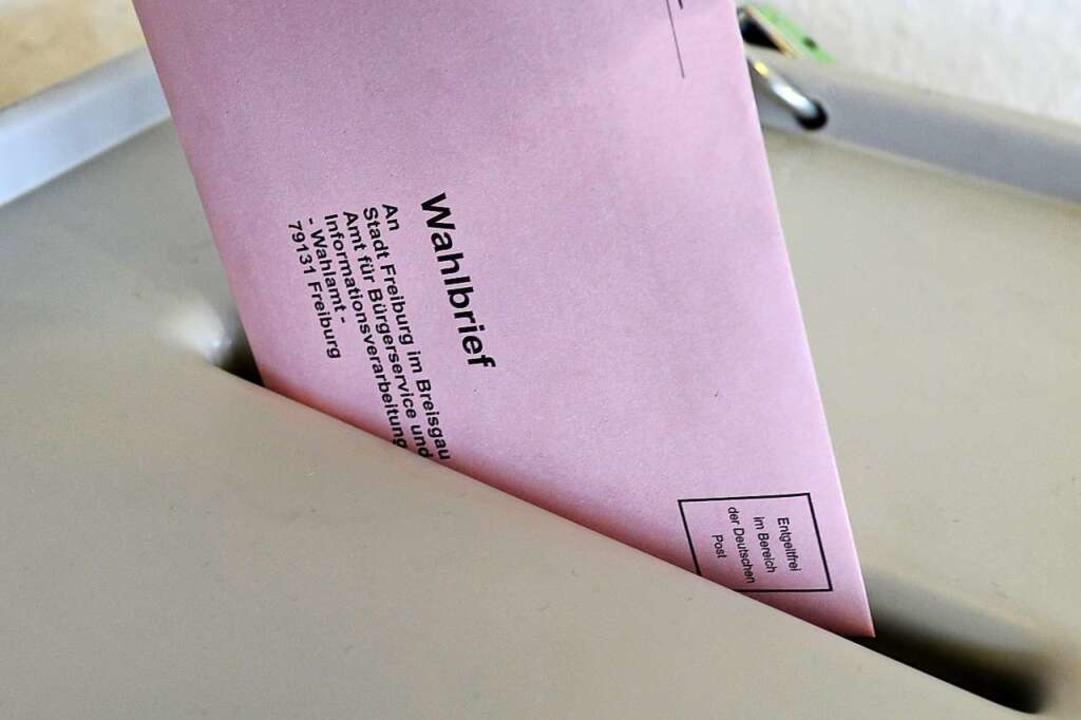 Am 22. April wählen Freiburgerinnen und Freiburger ihren Oberbürgermeister.    Foto: Ingo Schneider