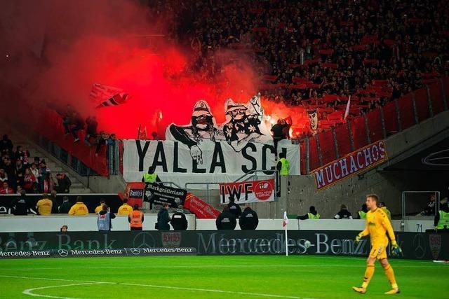 Anhänger des SC Freiburg sollen vom DFB verhängte Pyrotechnikstrafe zahlen