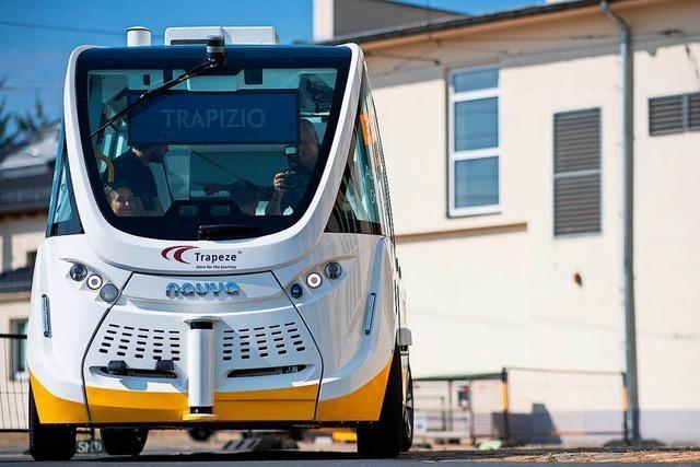 Der Traum von fahrerlosen Bussen im Hexental