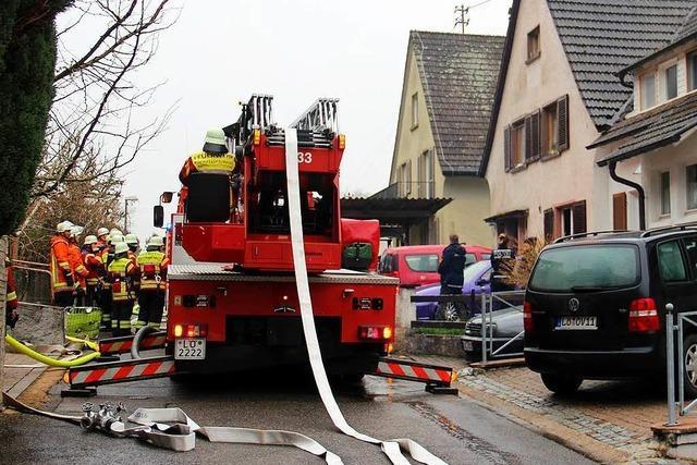 Schwörstadt: Wohnungsbrand in der Gartenstraße