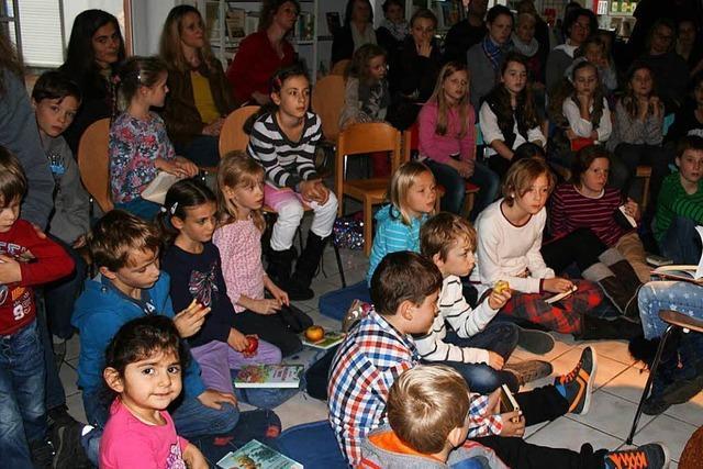 Stadtbücherei in Kandern setzt auf Kinder als Publikum