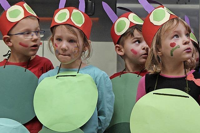 Murger Kinder tauchen ein in kunterbunte Zirkuswelt