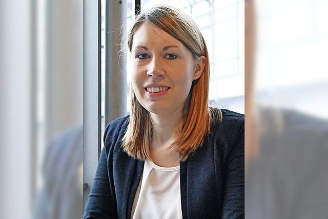 Aufstrebende SPD-Frau