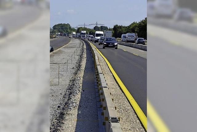 Autobahn: Bald beginnen die nächsten Bauarbeiten