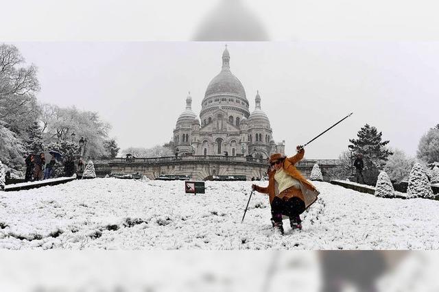 Paris verbietet Skifahren in der Stadt