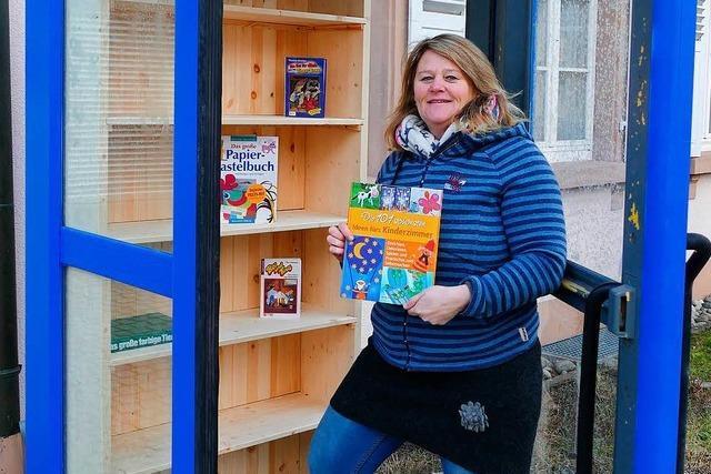 Schönau hat jetzt auch einen öffentlichen Bücherschrank