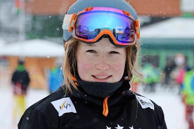 Ein Tag im Leben von Snowboardcrosserin Jana Fischer