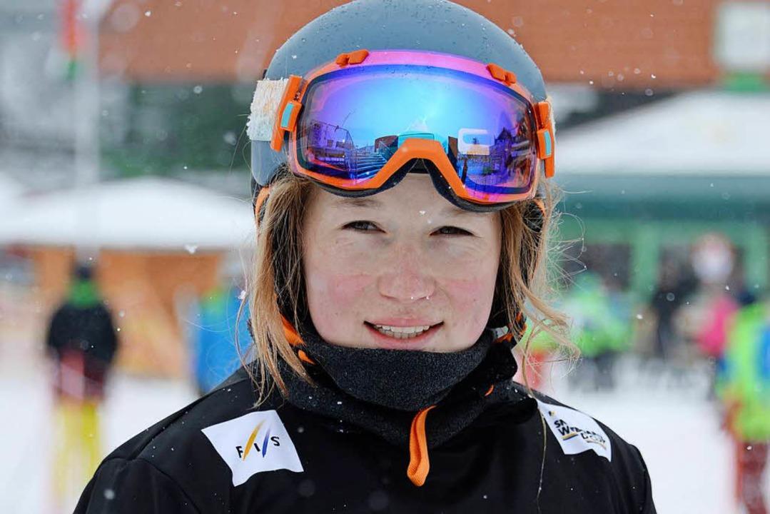 Jana Fischer fährt  zu den Olympischen Winterspielen nach Südkorea.    Foto: Patrick Seeger