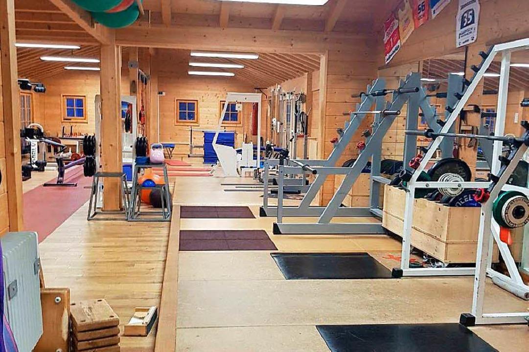 Der Trainingsraum    Foto: Jana Fischer