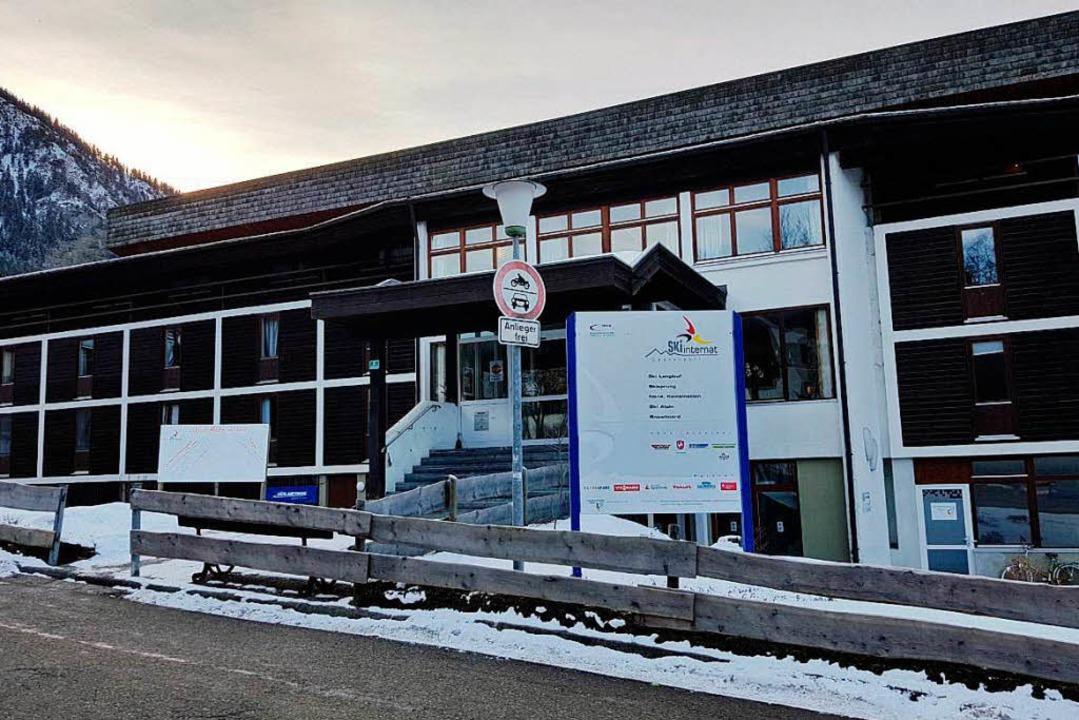 Das Skiinternat  Oberstdorf – Janas zweites Zuhause    Foto: Jana Fischer