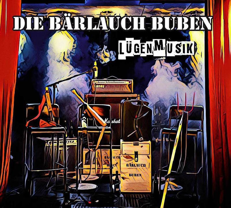Lügenmusik – so heißt das erste Album  der Bärlauch Buben.    Foto: Promo