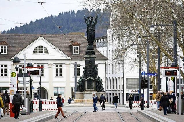 Freiburgs Grüne fordern einen Europaplatz für das Siegesdenkmal