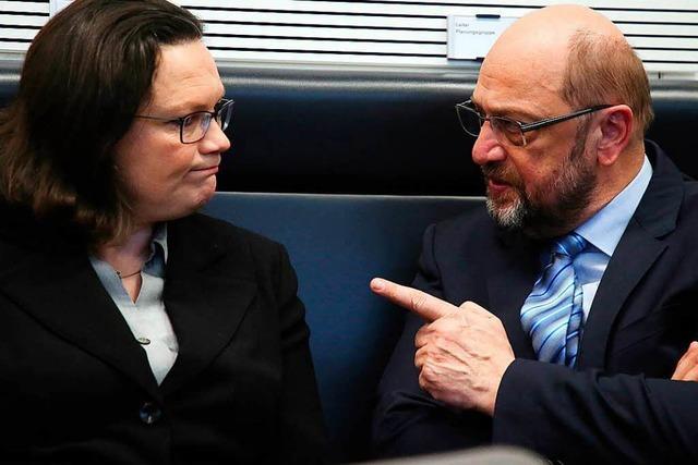 Interner Unmut bei Union und SPD über den Koalitionsvertrag