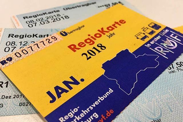 Achtung, Betrüger verkaufen gefälschte Regiokarten