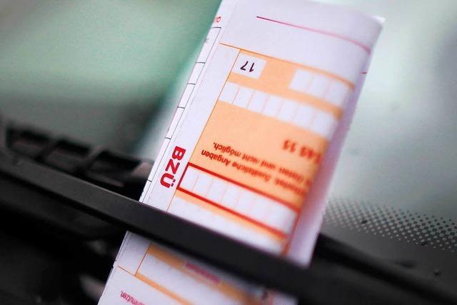 Warum kassieren Falschparker unterschiedliche Bußgelder?