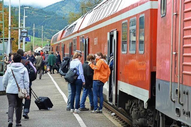Bahnsteige der Höllentalbahn werden künftig alle barrierefrei sein