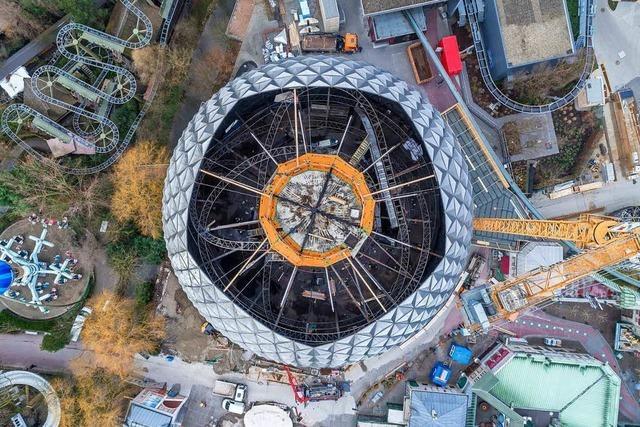 Die Eurosat im Europa-Park wird zum Can-Can-Coaster