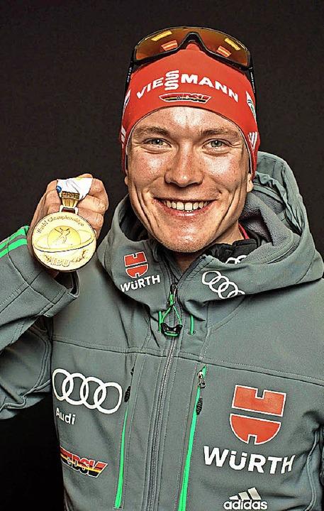 Edelmetall bei Olympia wäre das Höchste für  Weltmeister Benedikt Doll.     Foto: DPA