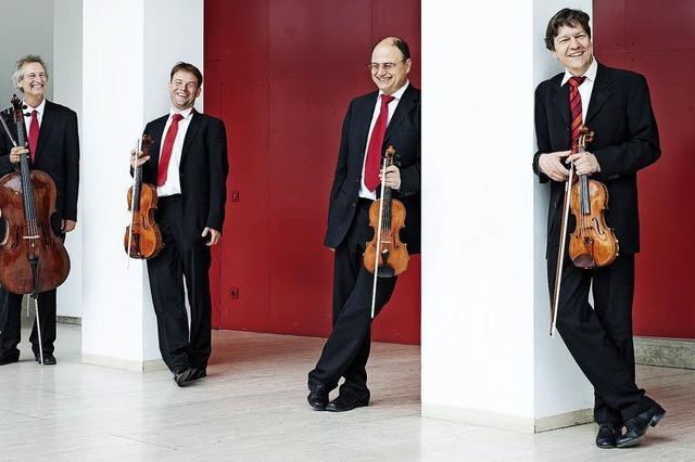 Vier Musiker aus Frankfurt gastieren in Laufen