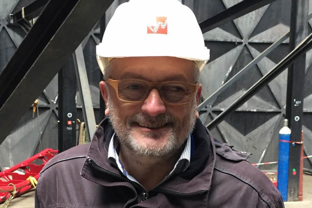 Peter Bläsi, der zweite Ingenieure der neuen Achterbahn.  | Foto: Europa-Park