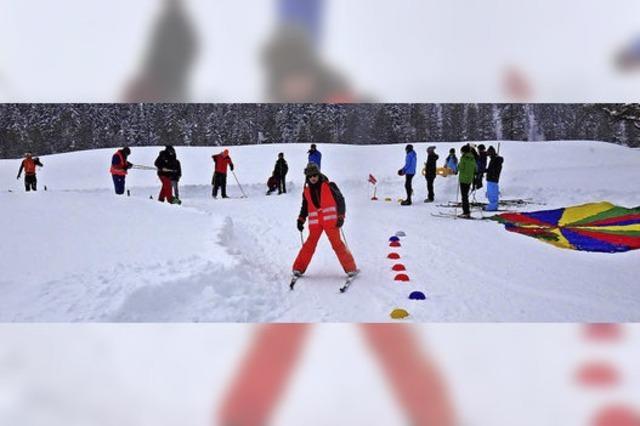 Erlebnis-Schule im Schnee