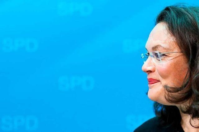 Nahles: Kompetente Sachpolitikerin mit derber Art