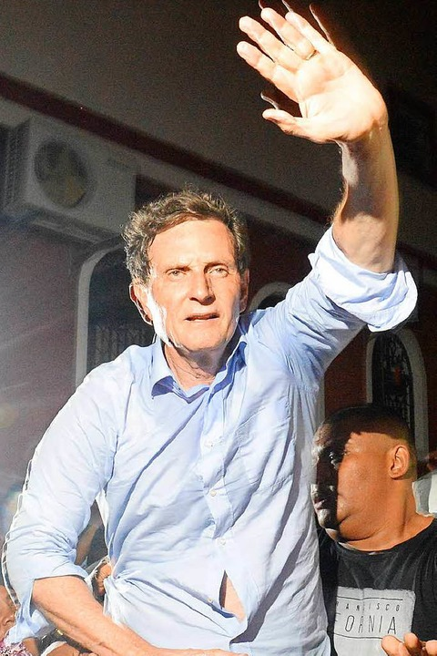 Der Feind des Karnevals: Rios Bürgermeister Marcelo Crivella  | Foto: Fernando Frazão