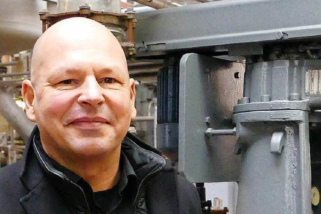 Martin Häfele leitet das DSM-Werk in Grenzach-Wyhlen