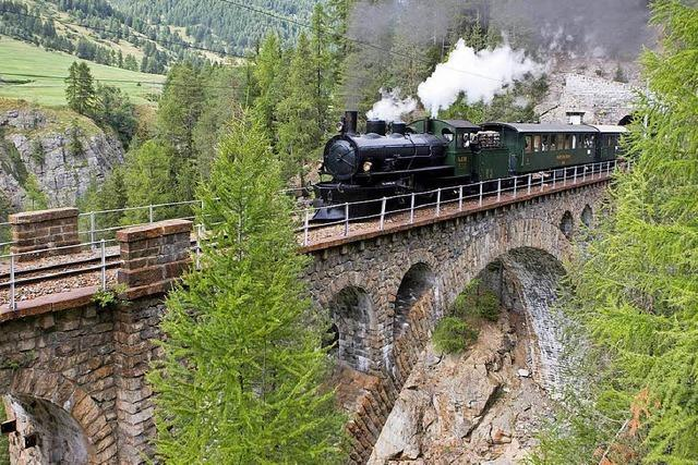 Dampfzugfahrt in Graubünden, Rolls-Royce-Museum in Dornbirn und ein Ausflug nach St. Gallen
